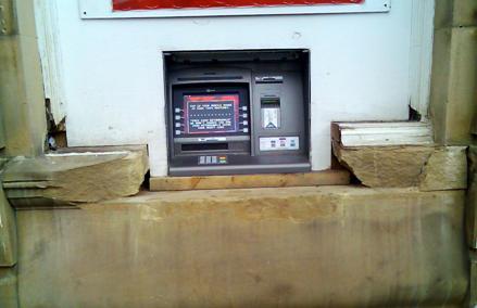 ATM Opening - Stonework